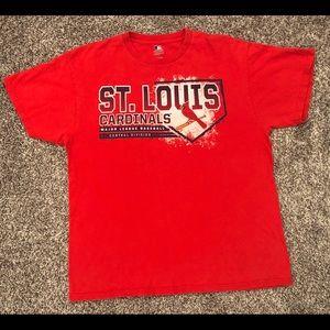 ST Louis Cardinals Baseball MLB Red Sports Shirt